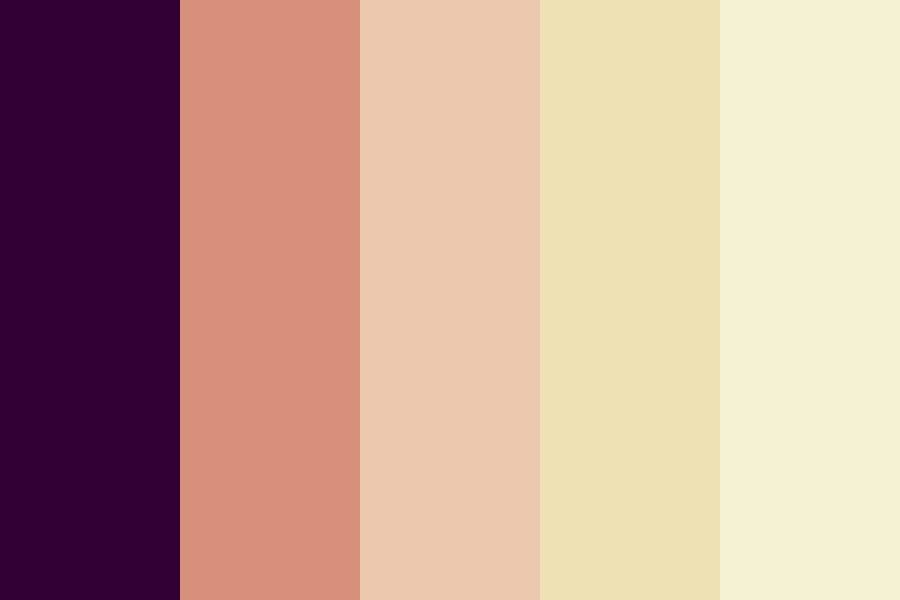 Grapes And Peaches Color Palette