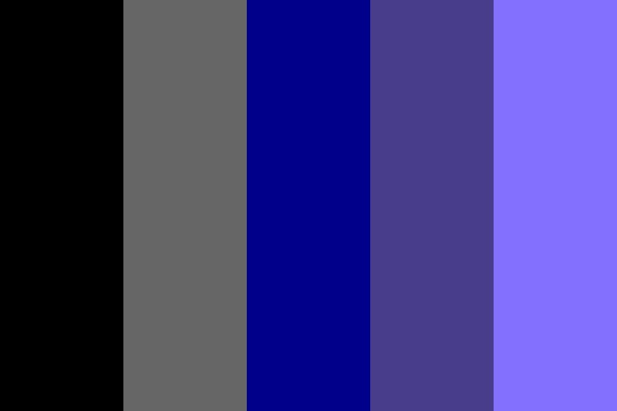 Gray And Purples Color Palette