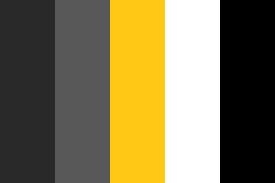Gray And Yellow Color Palette