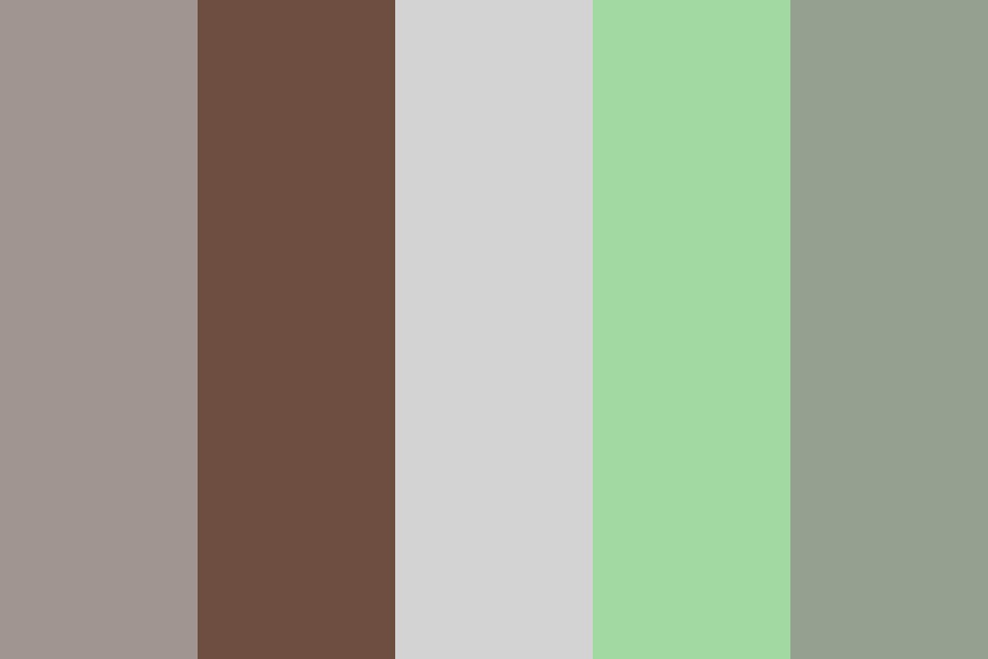 Gray Compound Color Palette