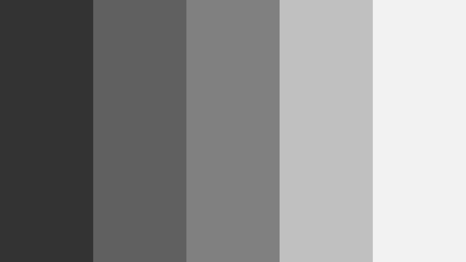 Gray For Coding Color Palette