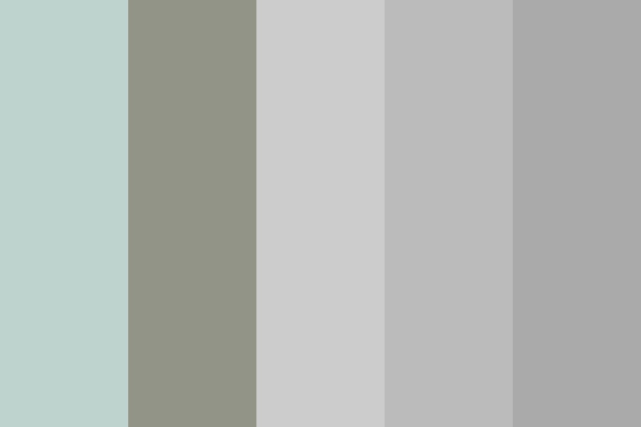 Gray Staging Color Palette