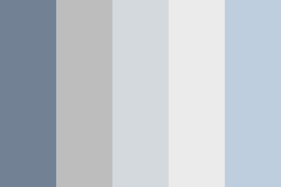 Grays Of Goodness Color Palette