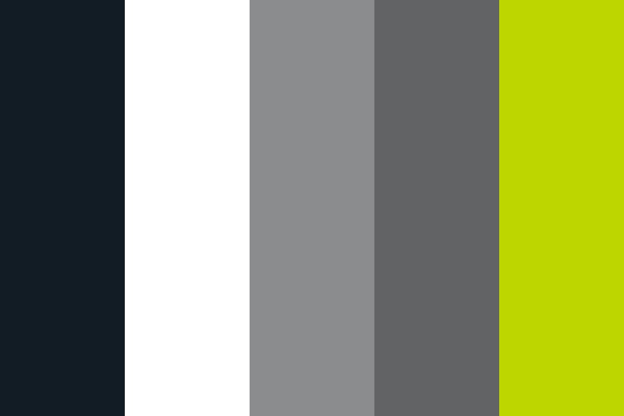 Grayscale Basics  Green Color Palette