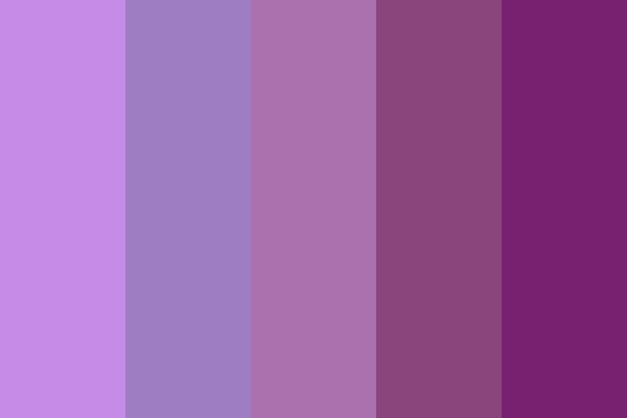 Greatest In The Galaxy Color Palette