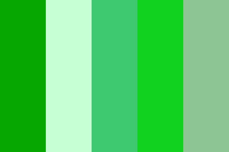 Green  Color Palette