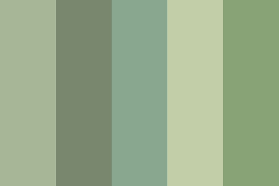 Green  nature  Color Palette
