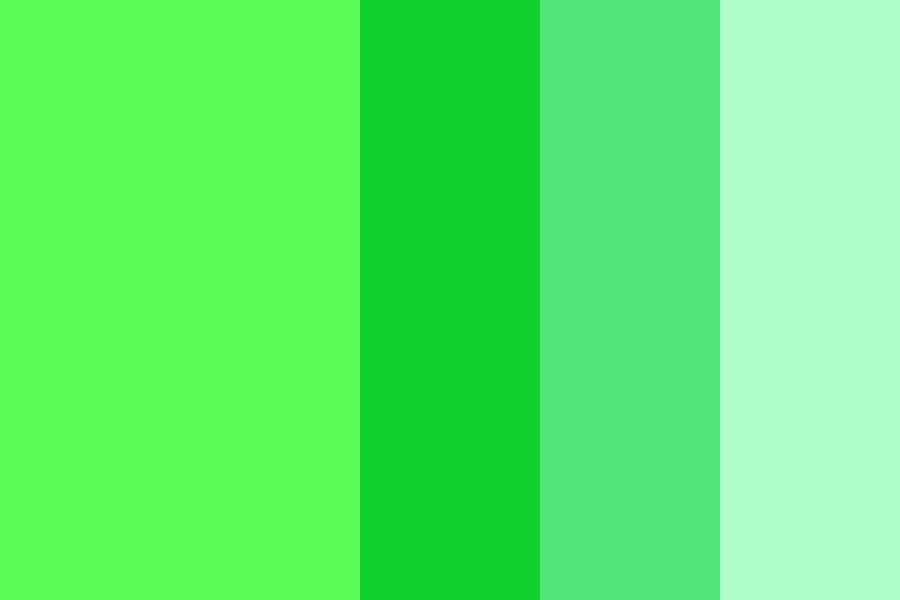 Green Anagrams Color Palette