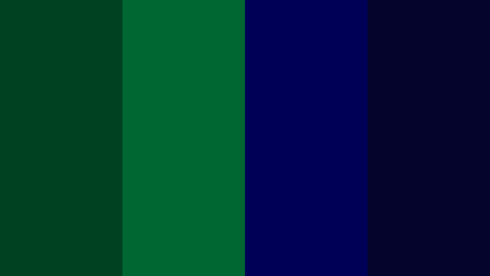 Green And Blue Tartan Color Palette