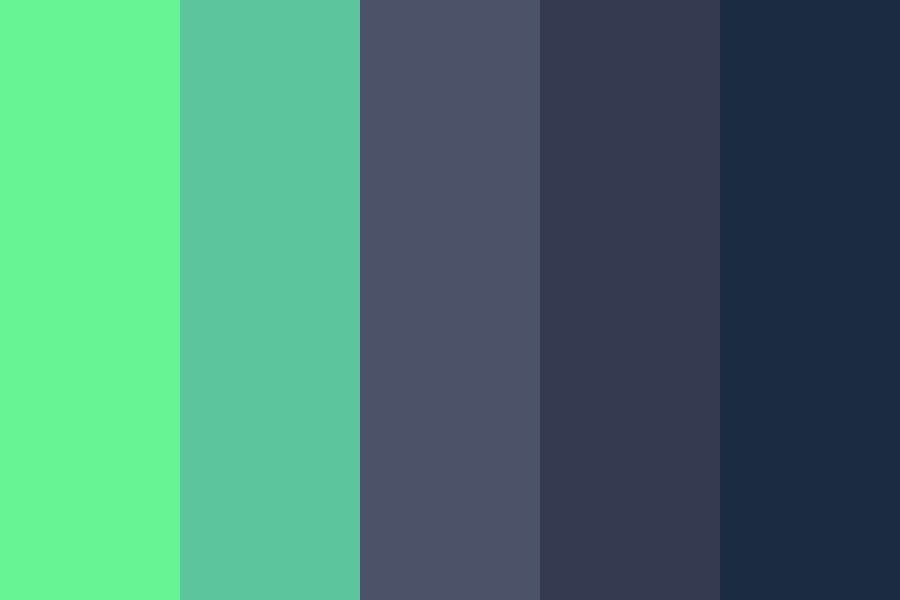 Green And Grey Color Palette