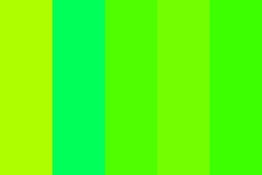 Green Awesome Pallete Color Palette