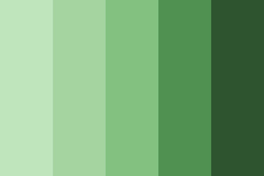 Green Can Be Cool Color Palette