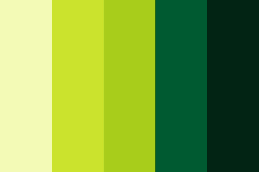 Green Day Color Palette