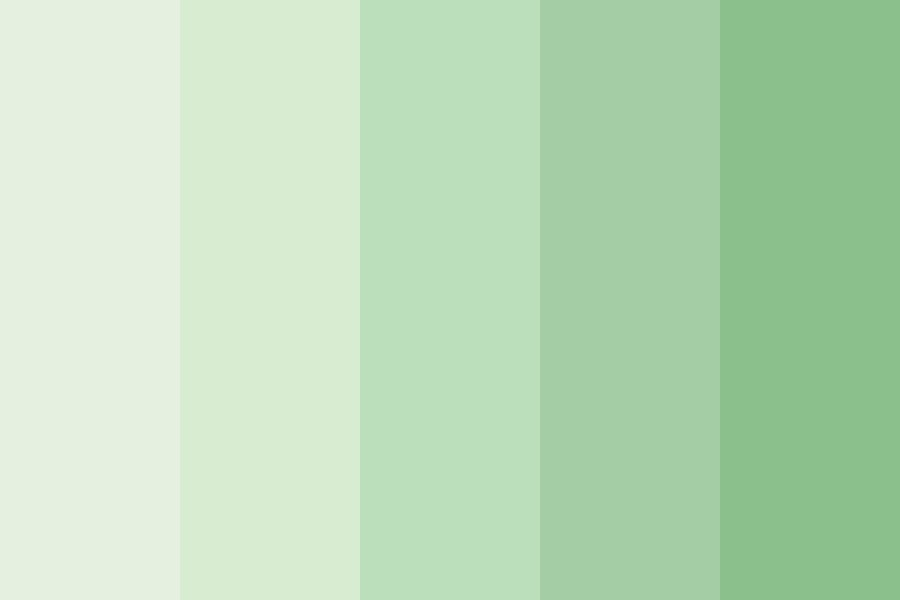 Green Earthy Color Palette