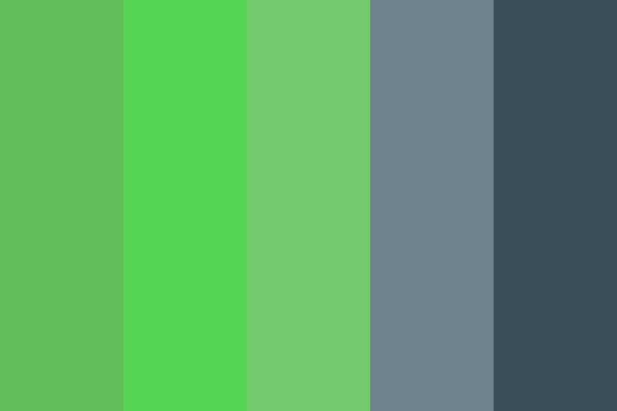 Green Events Color Palette