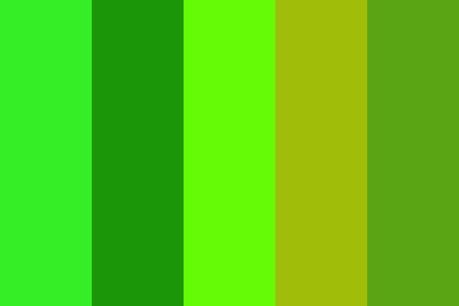 Green For Patrick Color Palette