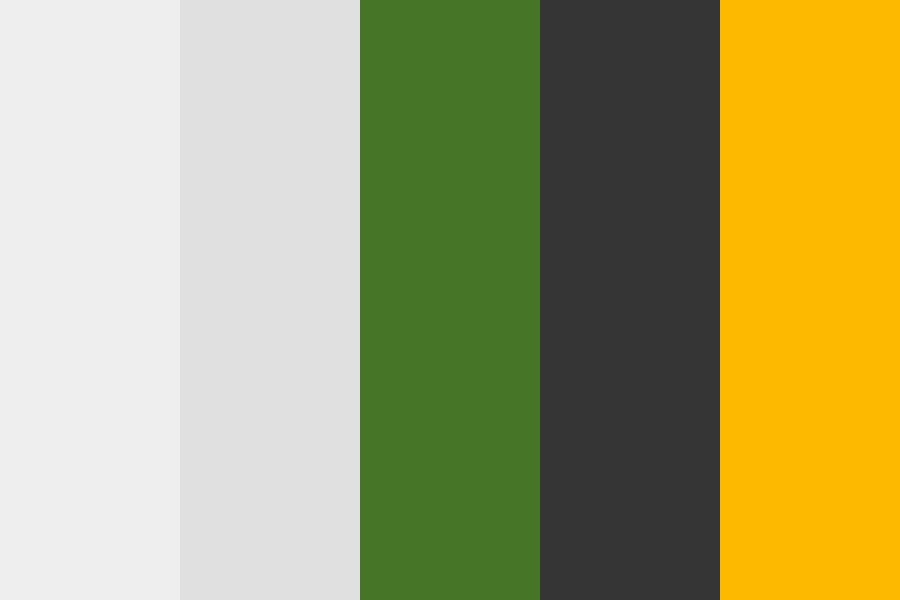 Green Forest Sun Color Palette