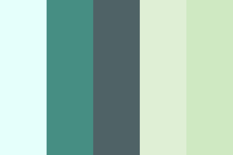Green Freedom Color Palette