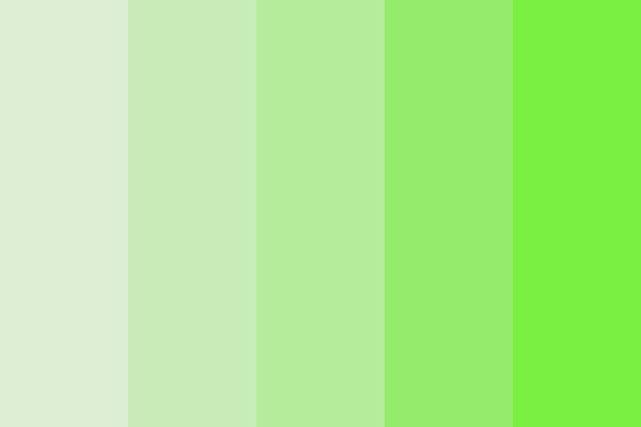 Green Green Green Color Palette