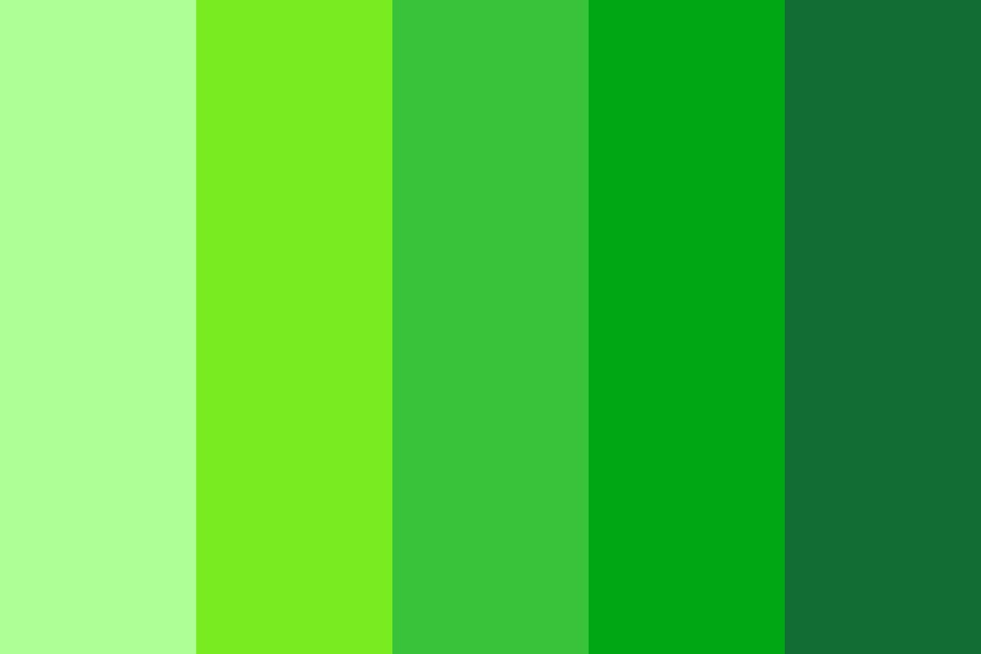 Green Is An Underrated Color Color Palette