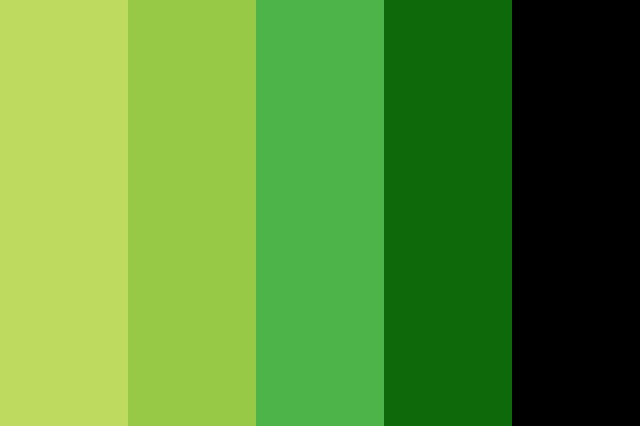 Green Light Movement Color Palette