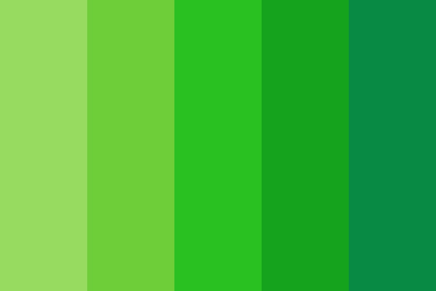 Green Machine Color Palette