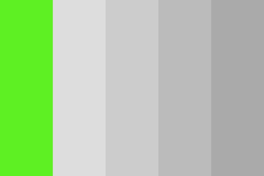 Green Maybe Color Palette