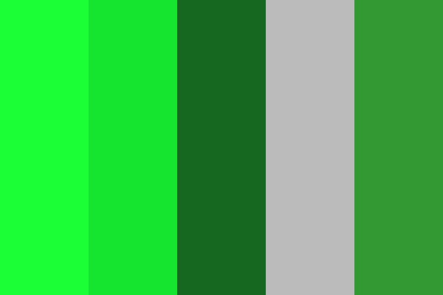 Green Mod Color Palette