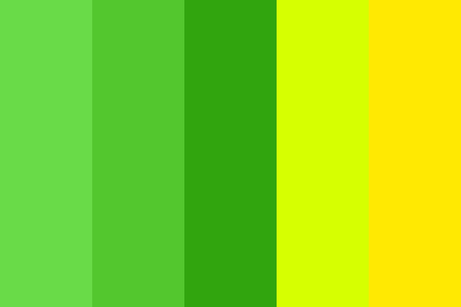 Green Mountains Color Palette