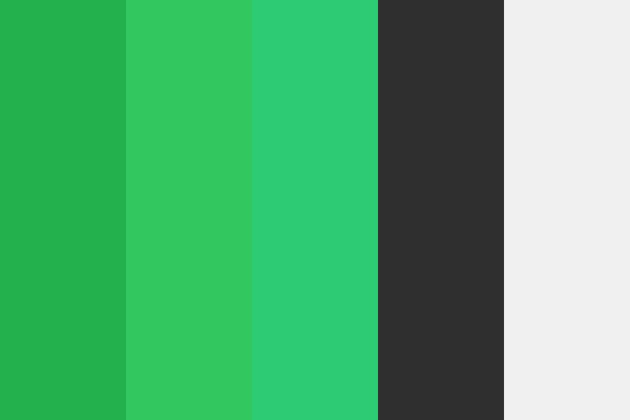 Green Paid Color Palette