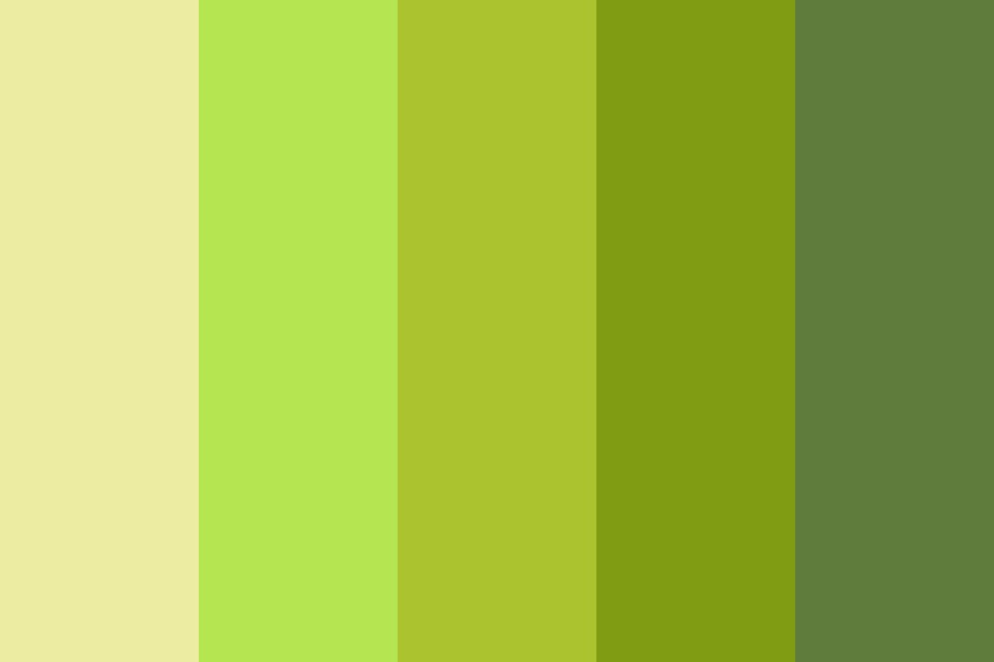 Green Palette Color Palette