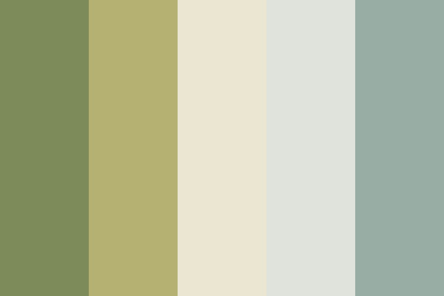 Green Sake Color Palette