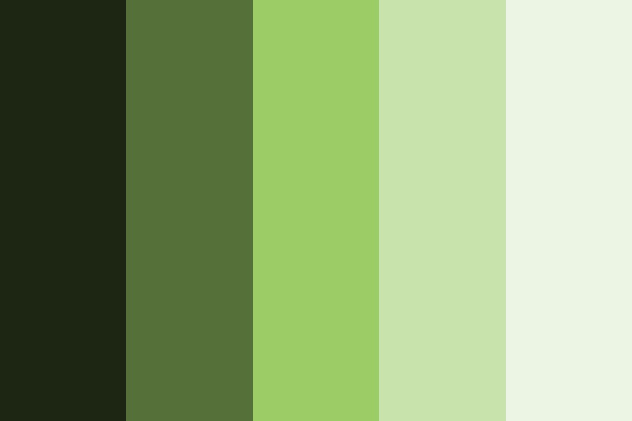 Green Shades Hcwh Europe Color Palette