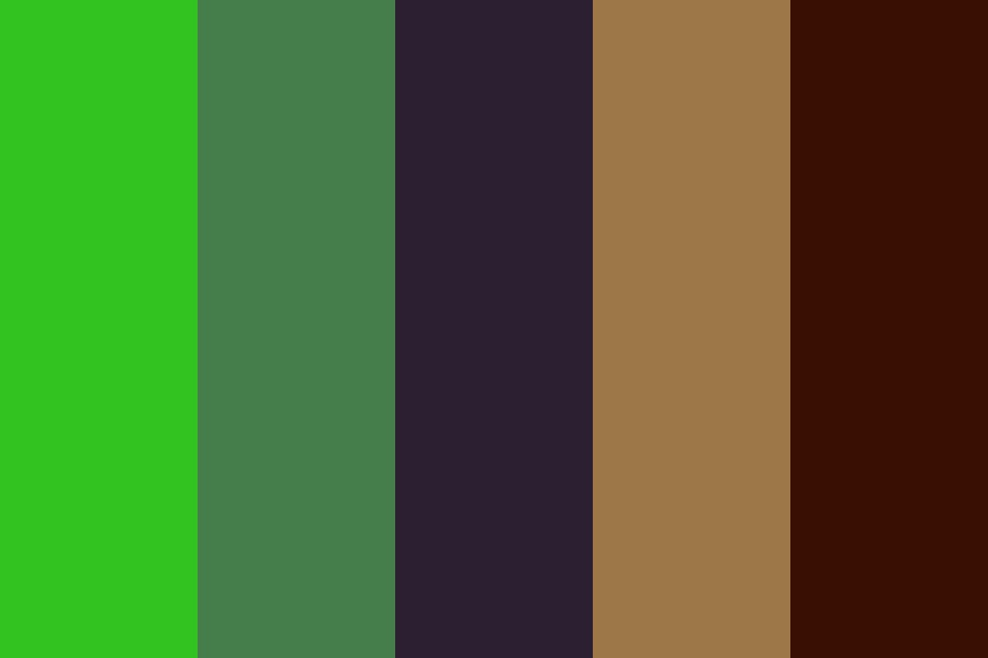 Green Shaft Color Palette