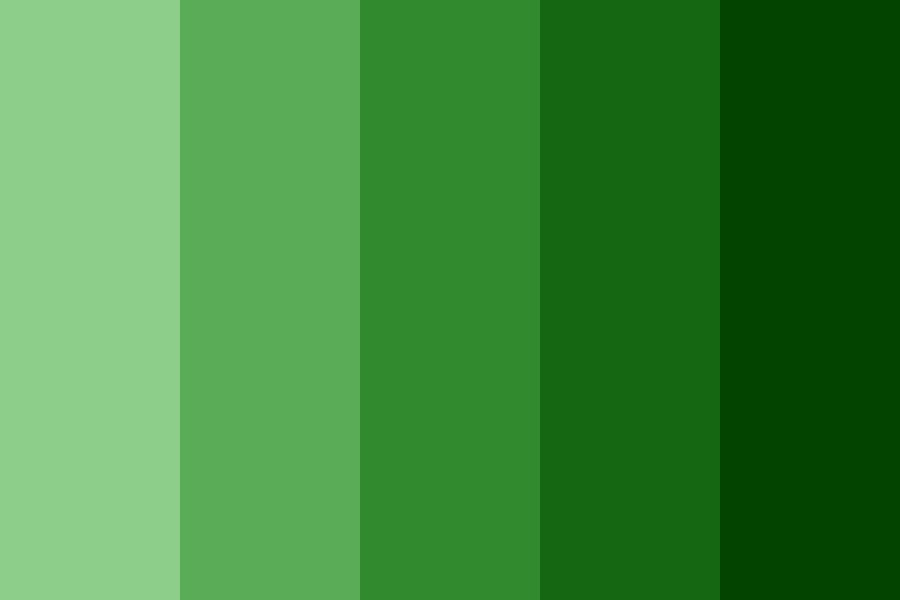 Green Stava Color Palette