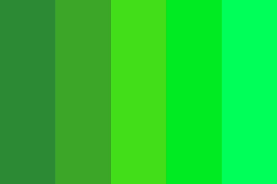 Green Stephen L Color Palette