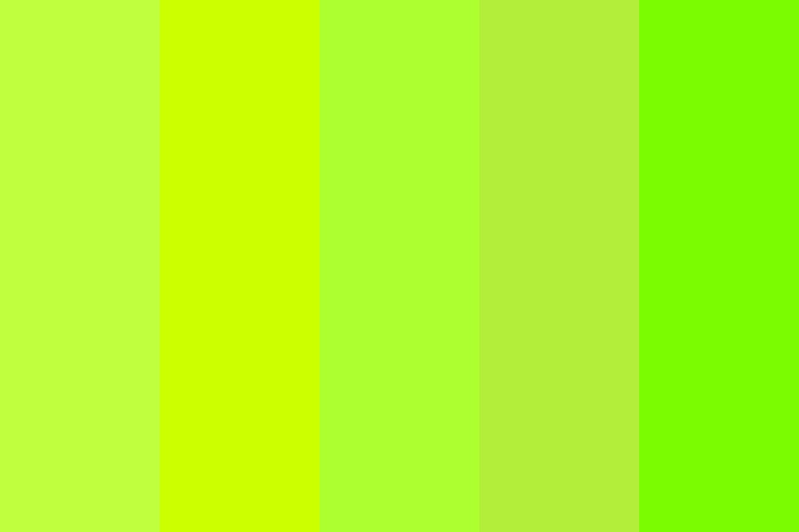 Green Summer Grass Color Palette