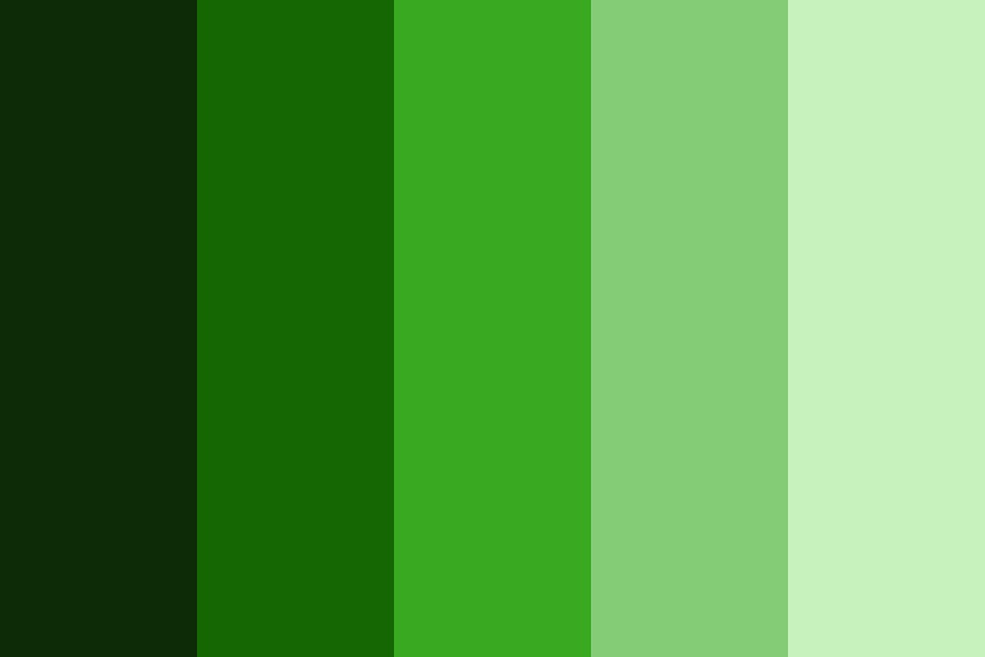Green The Pinup Color Palette