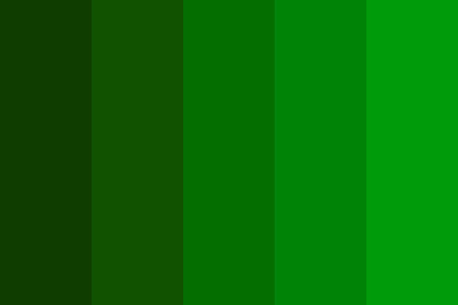 Green Tints Color Palette