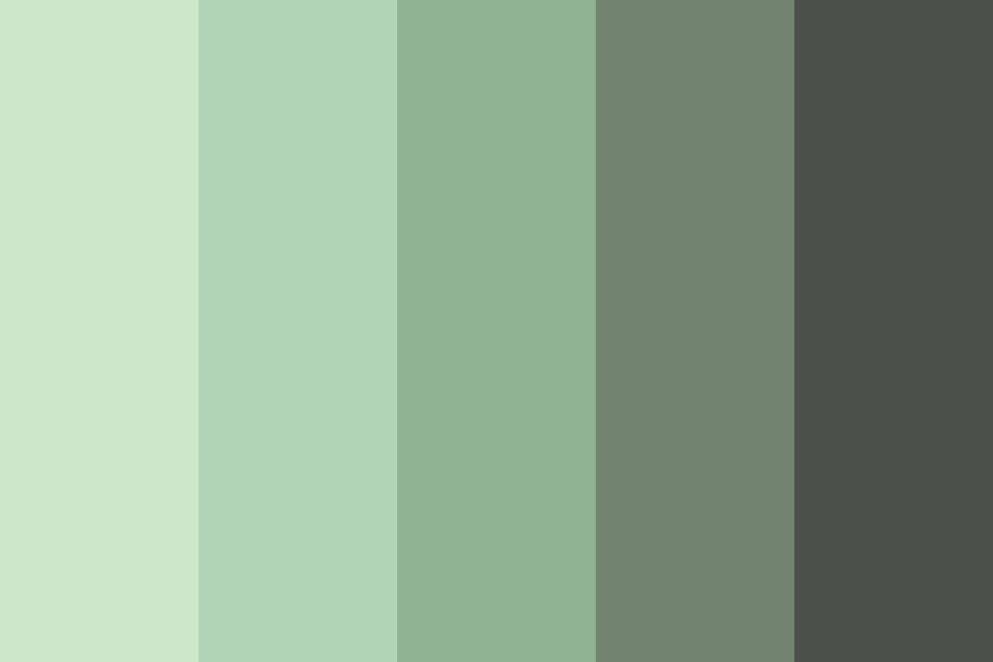 Green gray Change Color Palette