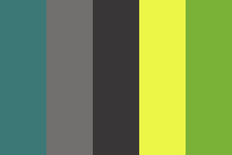 Greenbay Color Palette