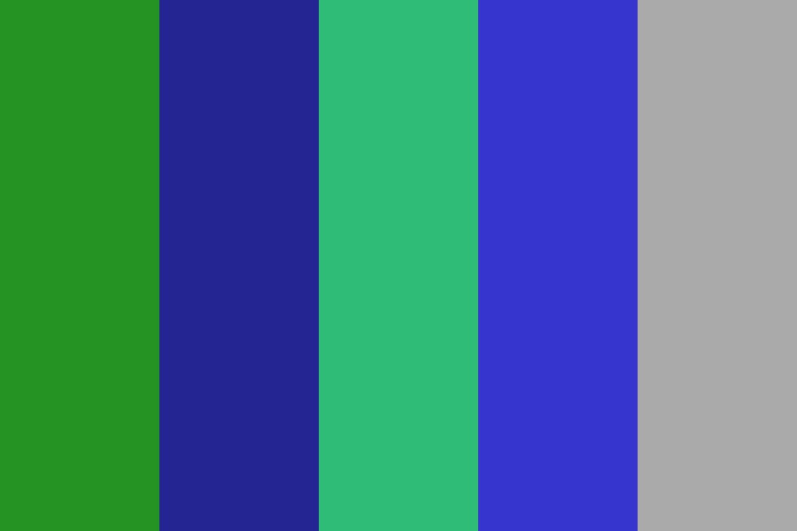 Greenblueteal Color Palette