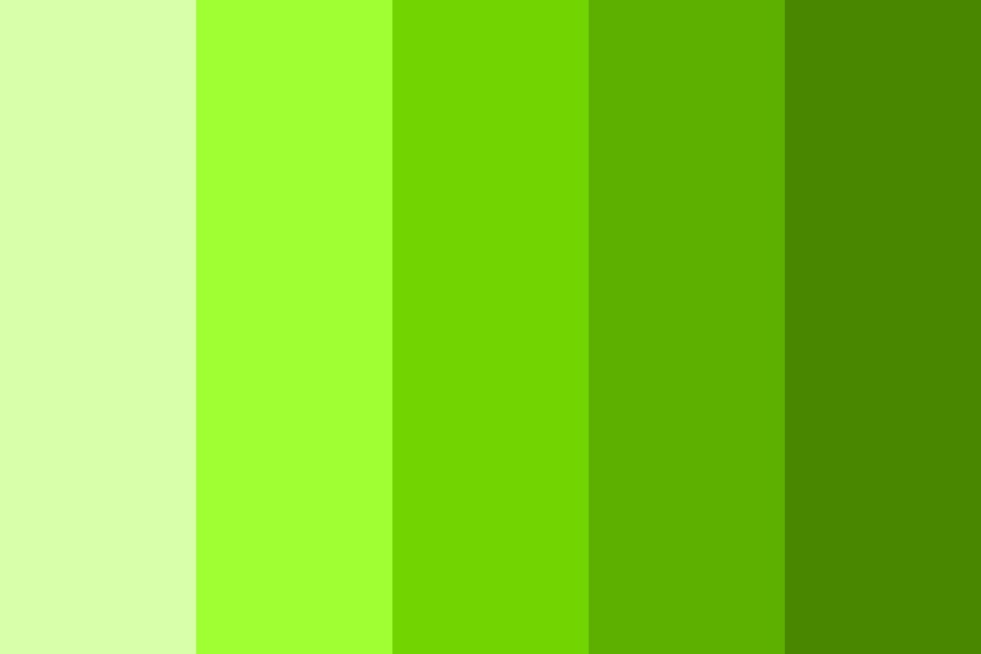 Greenchromatic Color Palette