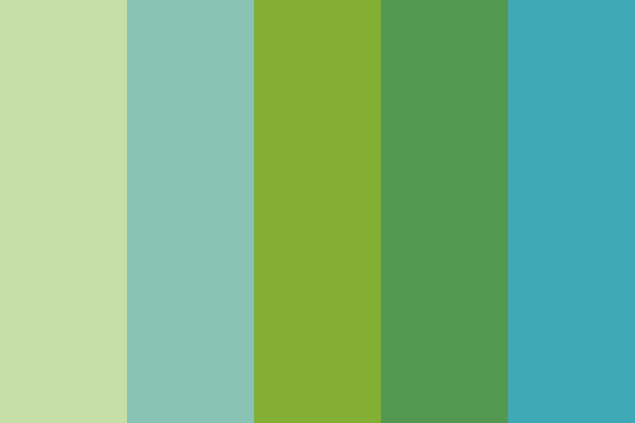Greener Living Color Palette