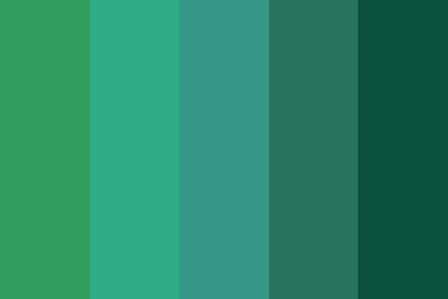 Greenery Base Color Palette