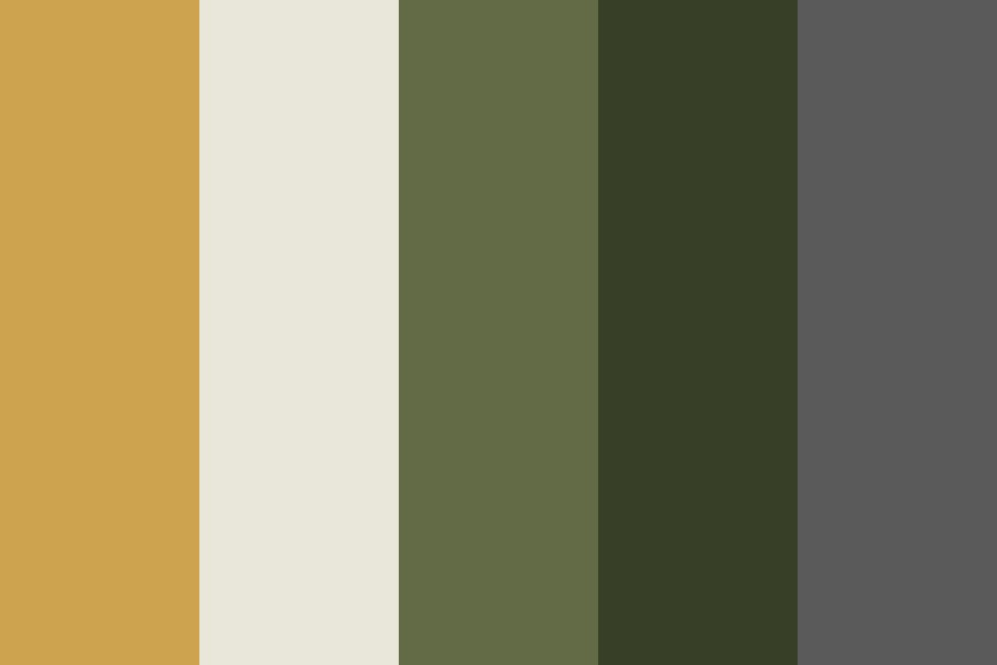 Greenery Color Palette