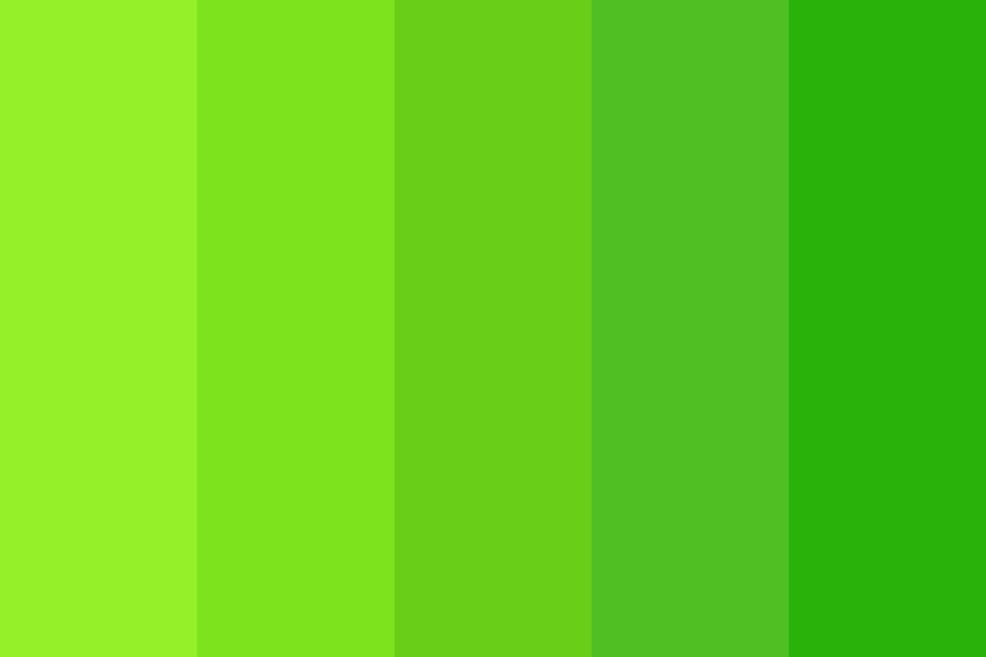 Greengrass Color Palette