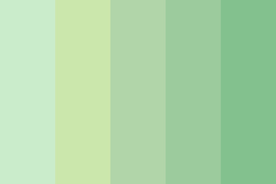 Greengreens Color Palette