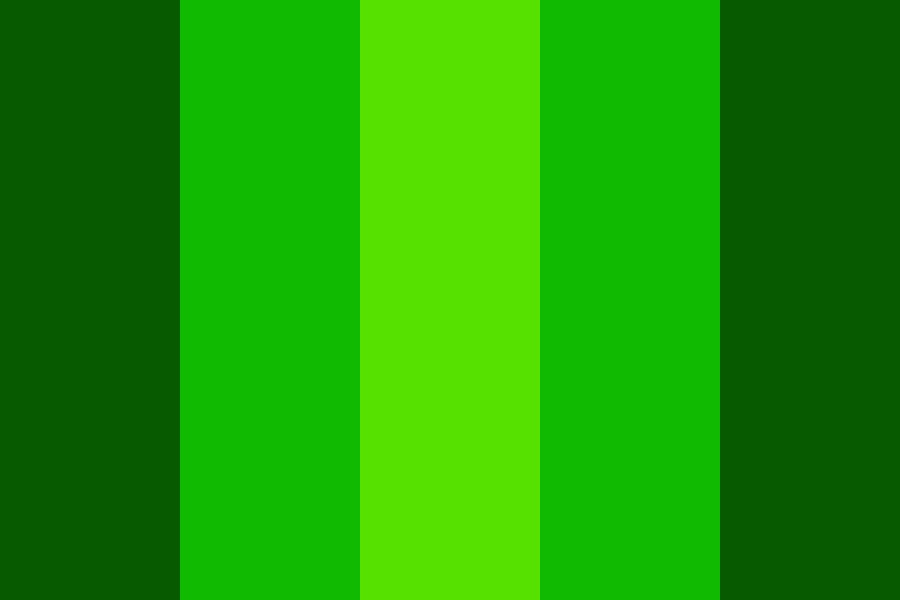 Greenmachine Color Palette