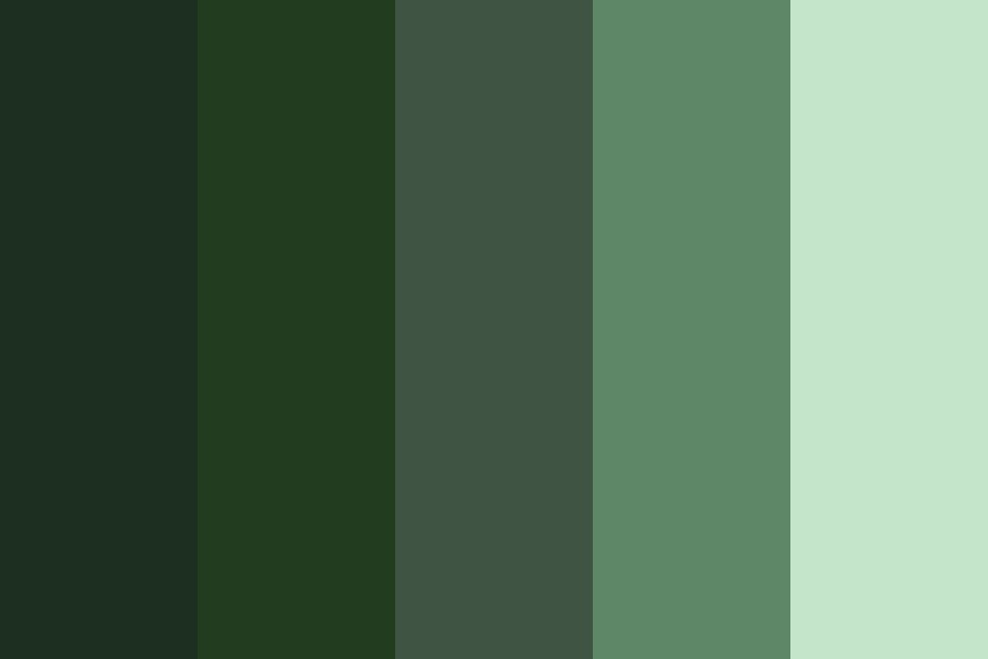 Greenscape Color Palette